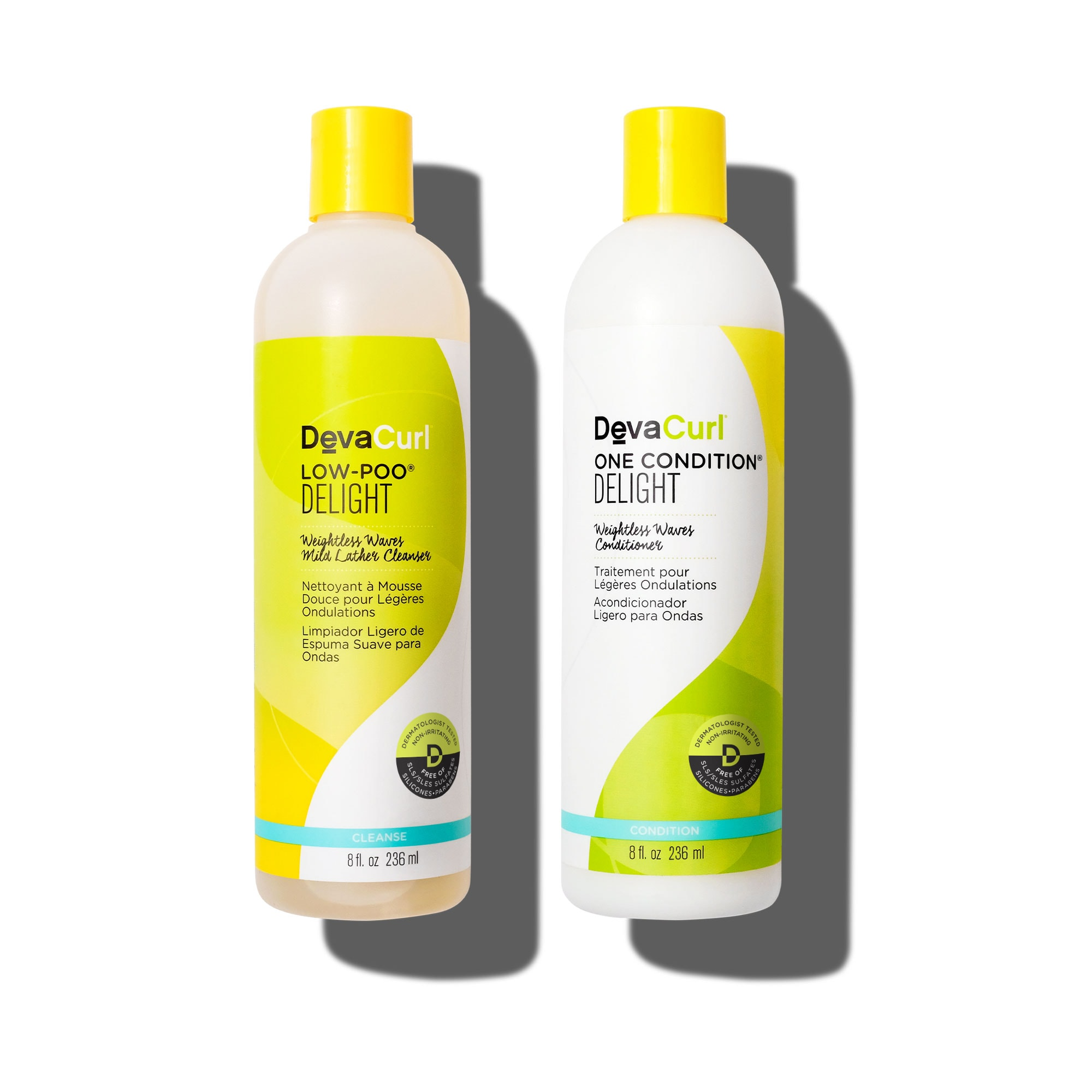 Low-Poo & One Condition Delight 12oz bottles