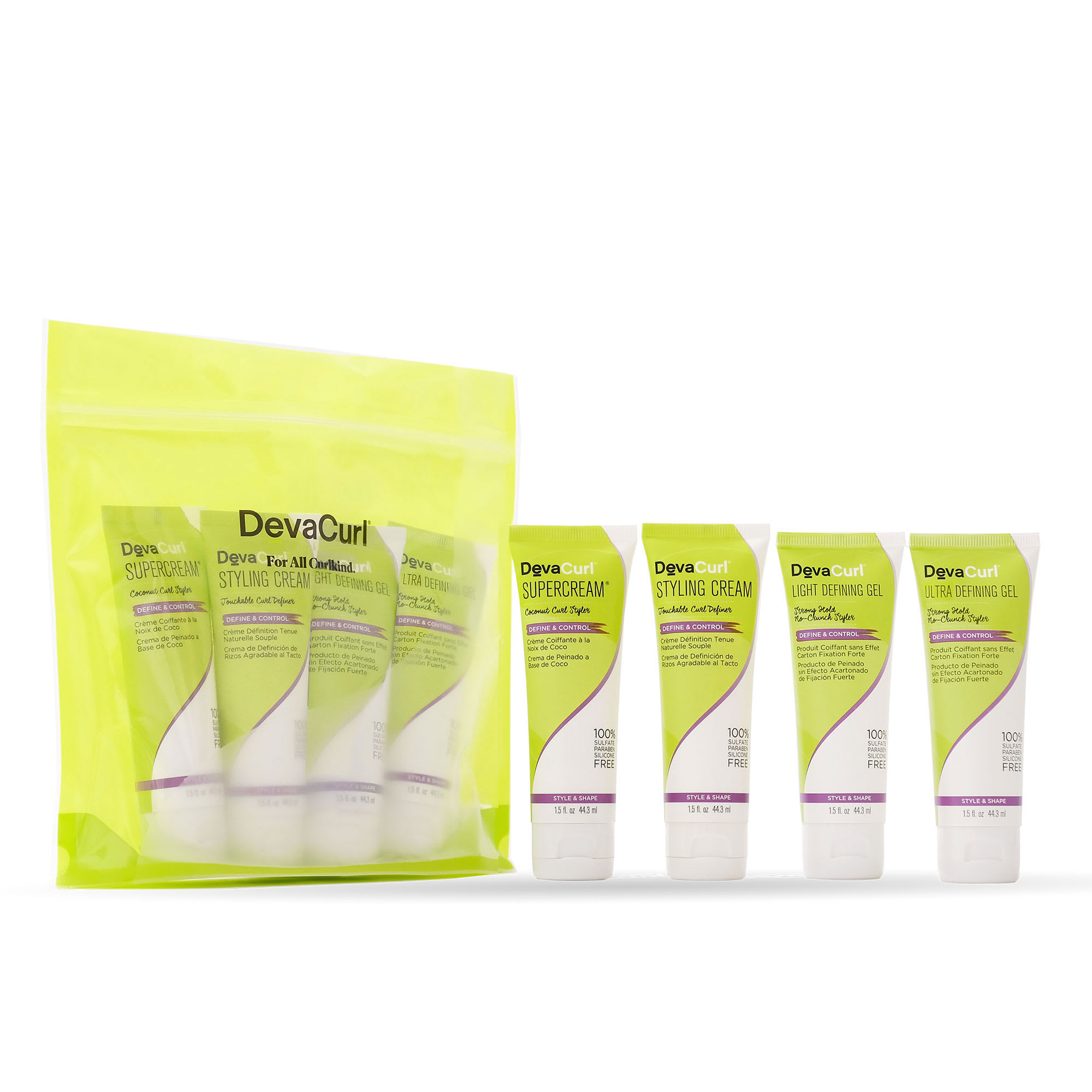 devacurl mini styler kit package and contents outside