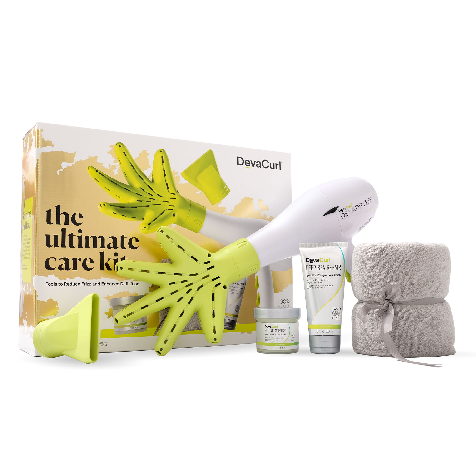 devacurl the ultimate care kit package