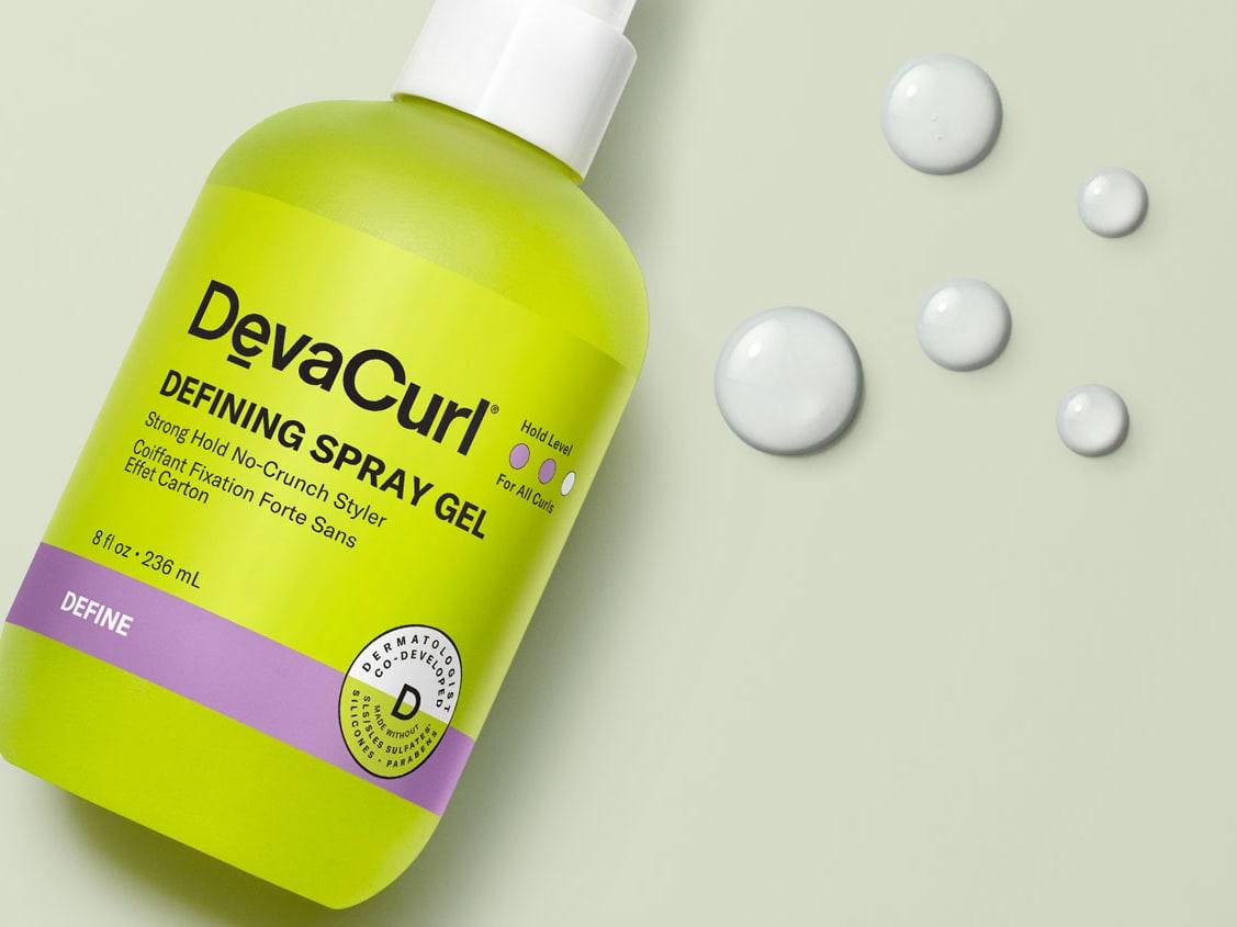 Defining Spray Gel bottle
