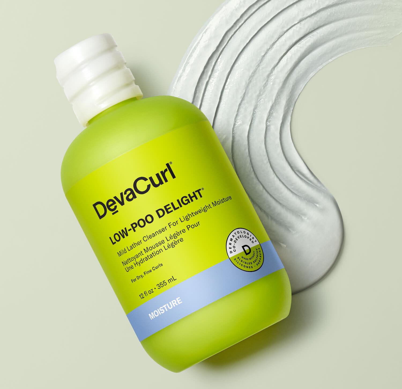 Low-Poo Delight® bottle with goop