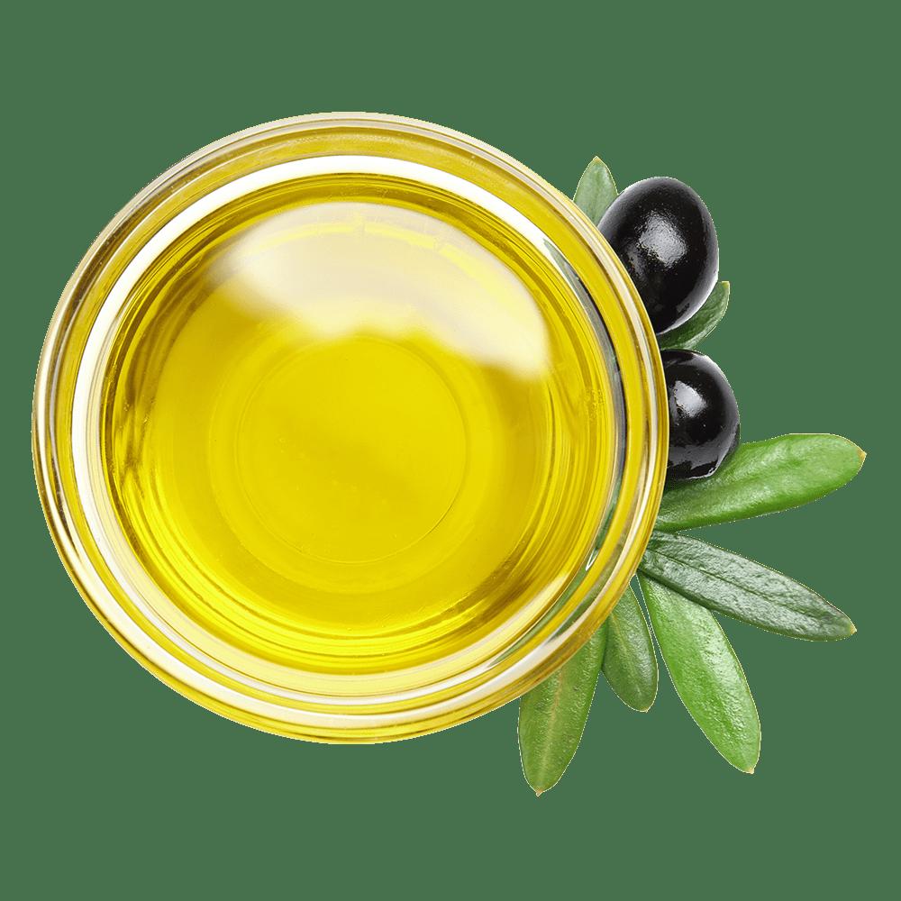 Bowl of olive oil