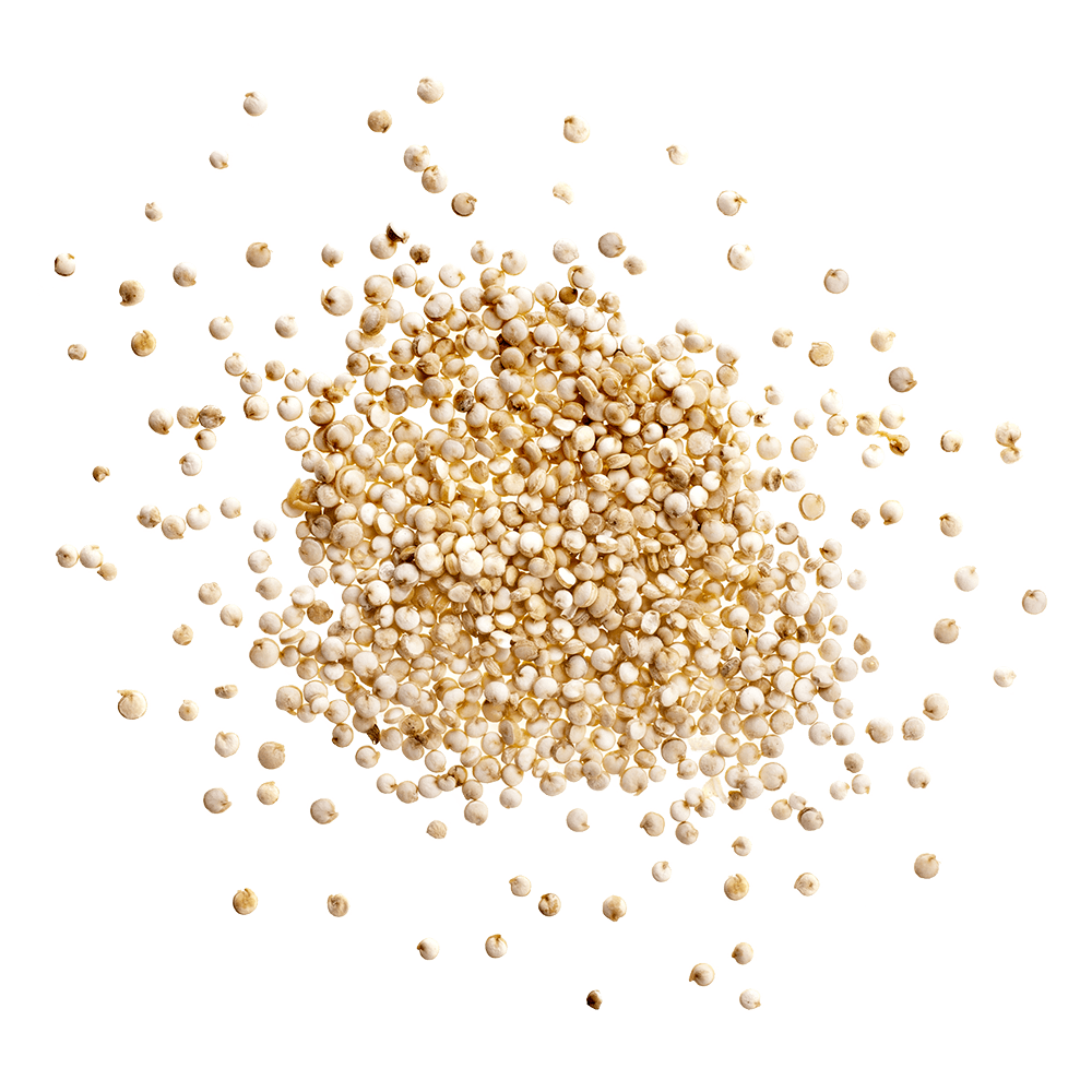 PIle of quinoa