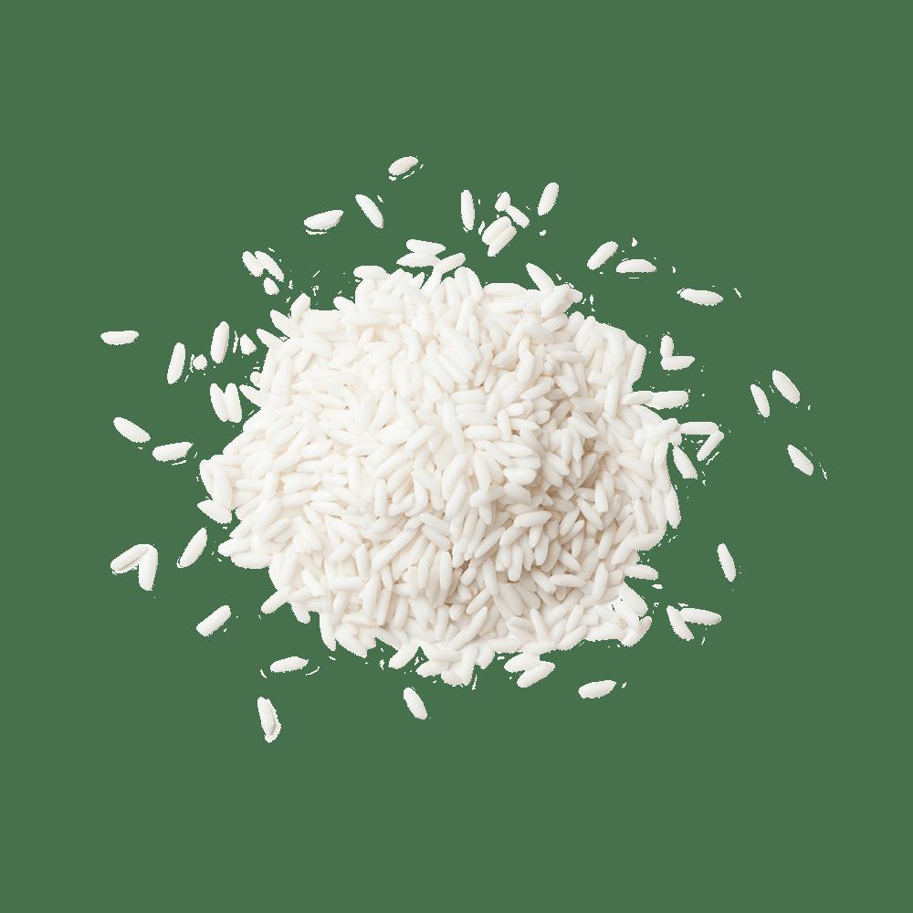 Pile of white rice