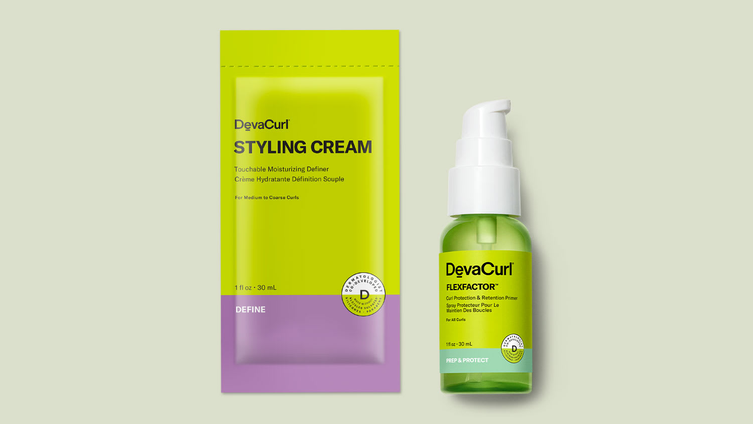 CurlBond packettes and goop