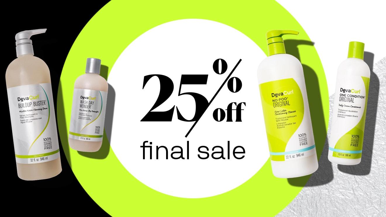 25% off final sale