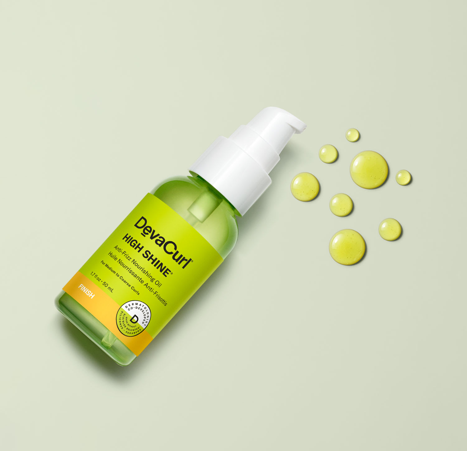 High Shine® bottle with goop