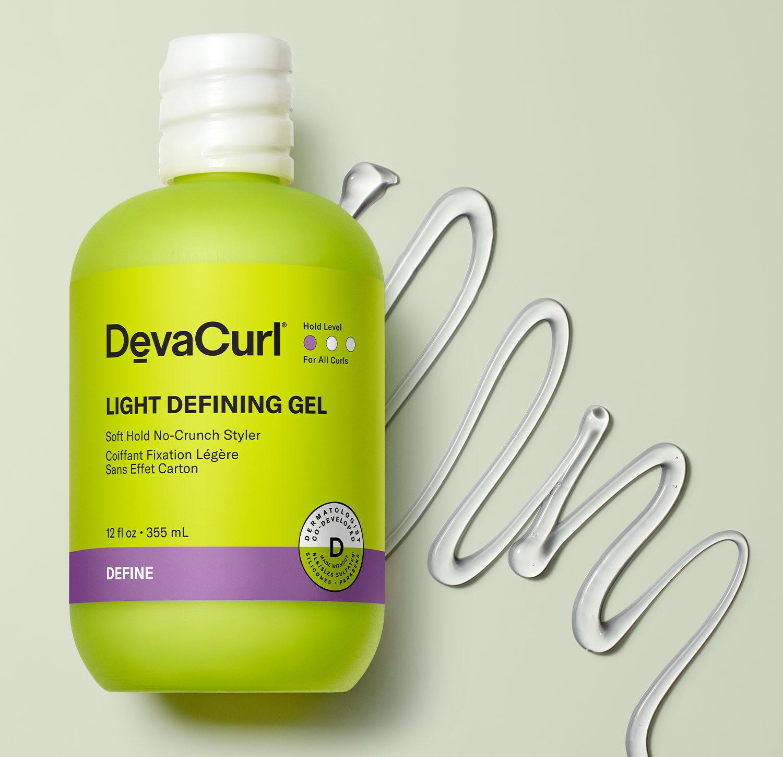 Light Defining Gel bottle with goop