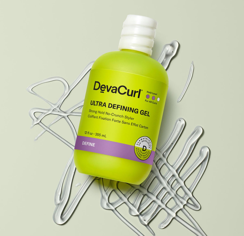Ultra Defining Gel bottle with goop