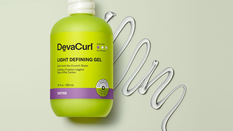 Light Defining Gel bottle and goop