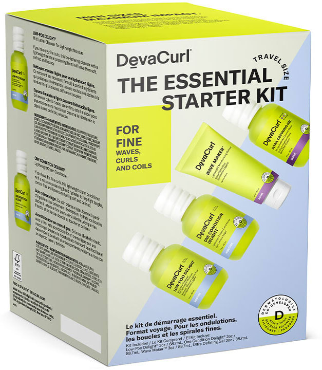 THE ESSENTIAL STARTER KIT: For Fine Waves, Curls, And Coils