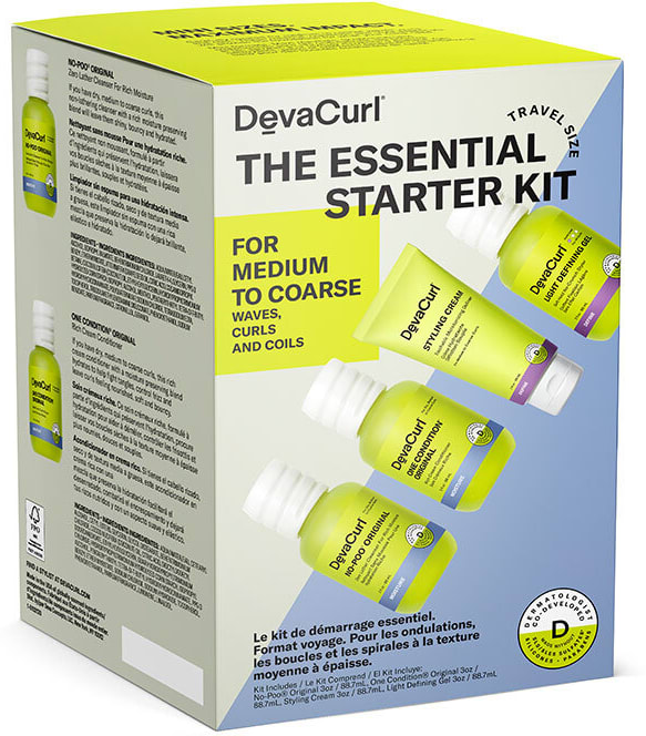 THE ESSENTIAL STARTER KIT: For Medium to Coarse Waves, Curls, And Coils