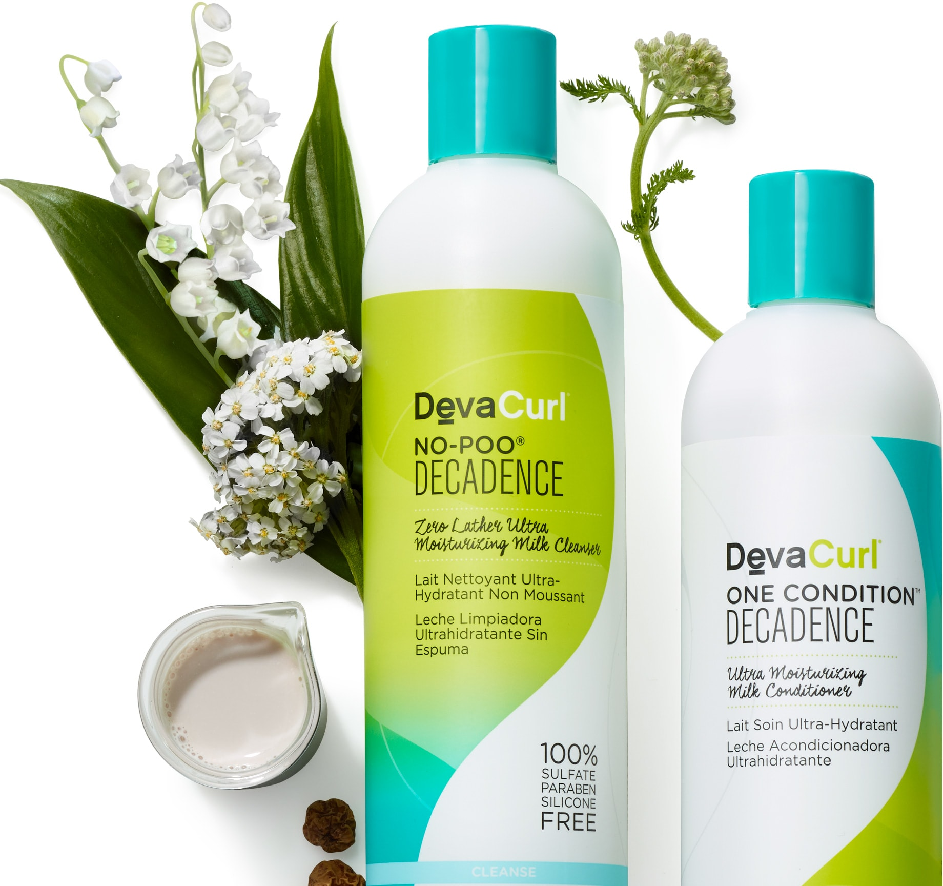 devacurl decadence cleansers & conditioners