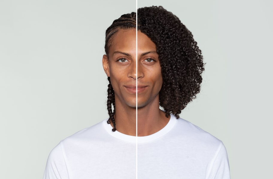 Before and After with No-Poo Original