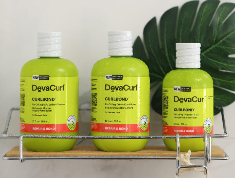 CurlBond™ Collection: cleanser, conditioner, and treatment mask