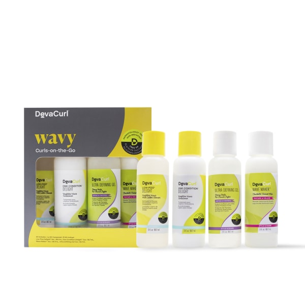 3oz bottles: low-poo & one condition delight, wave maker and ultra defining gel