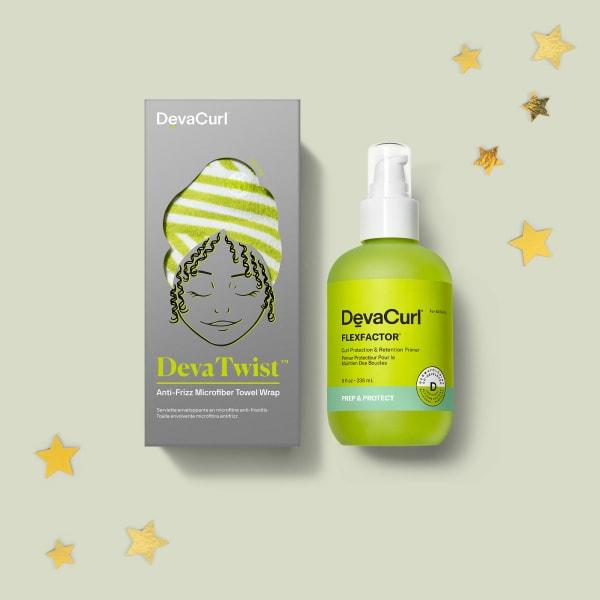 DevaTwist box and FlexFactor™ 8 oz Bottle with stars