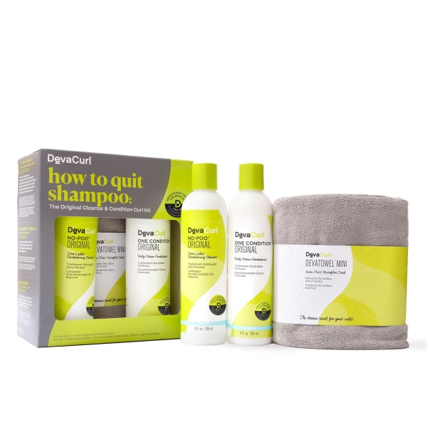 how to quit shampoo kit