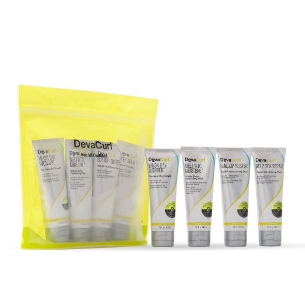mini treatment kit package with contents outside