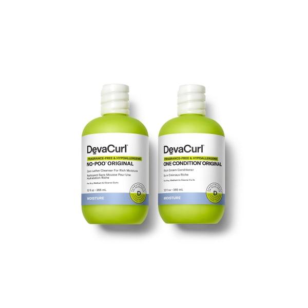 Fragrance-Free & Hypoallergenic  No-Poo® & One Condition® Original 12 oz bottles