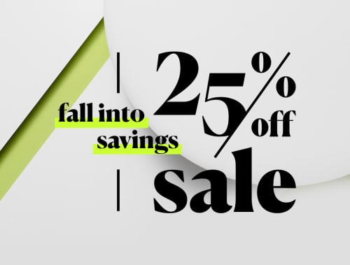 SALE? yes please! 25% off final sale.