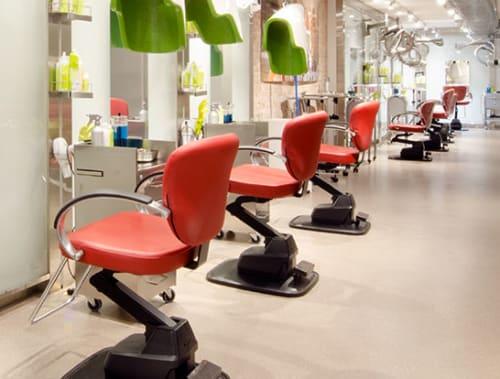 Salon chairs