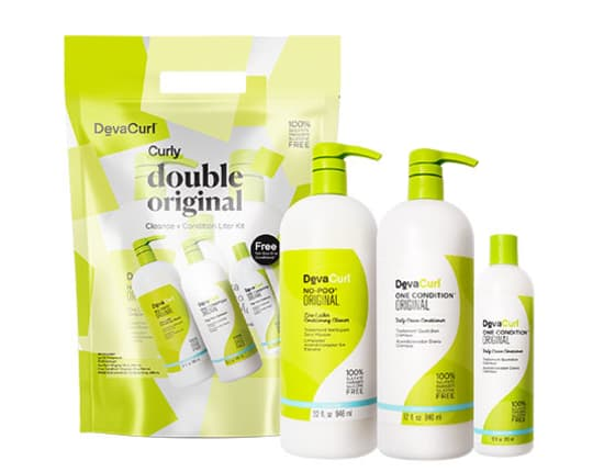 no-poo and one condition original liters with light defining gel 12oz bottle