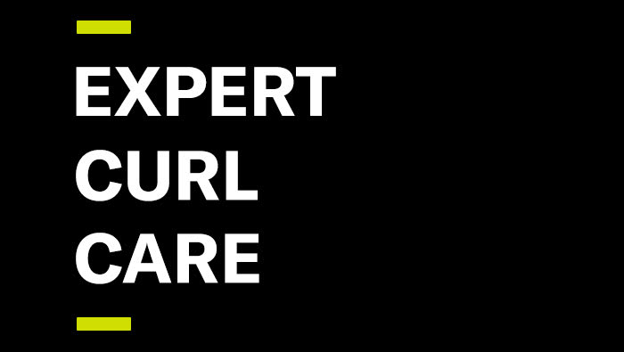 Expert Curl Care graphic