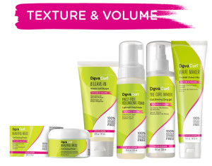 Texture and Volume Products - DevaCurl