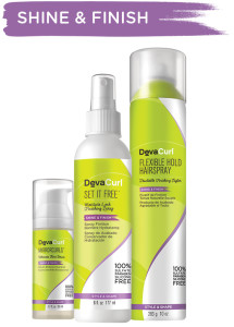 Shine and Finish Products - DevaCurl