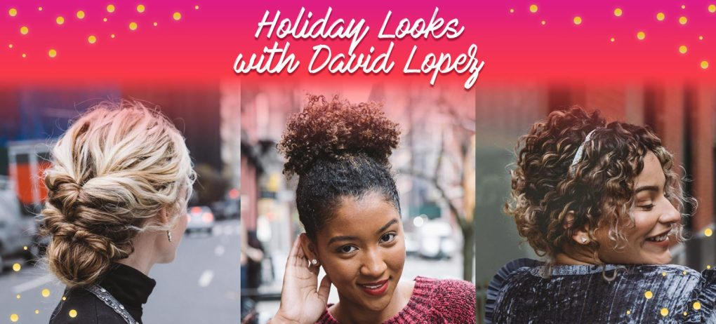 Curly Hairstyles For The Holiday Season Devacurl Blog