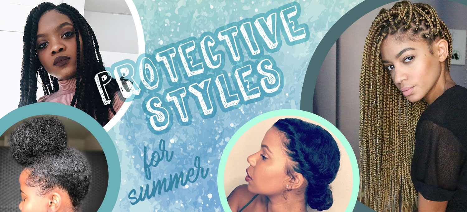 Guide To Protective Styles For Natural Hair Devacurl Blog