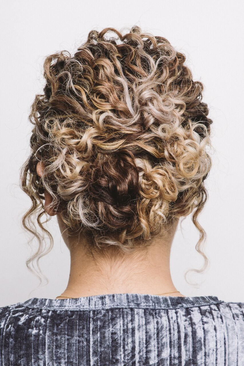 Curly Hairstyles for the Holiday Season - DevaCurl Blog