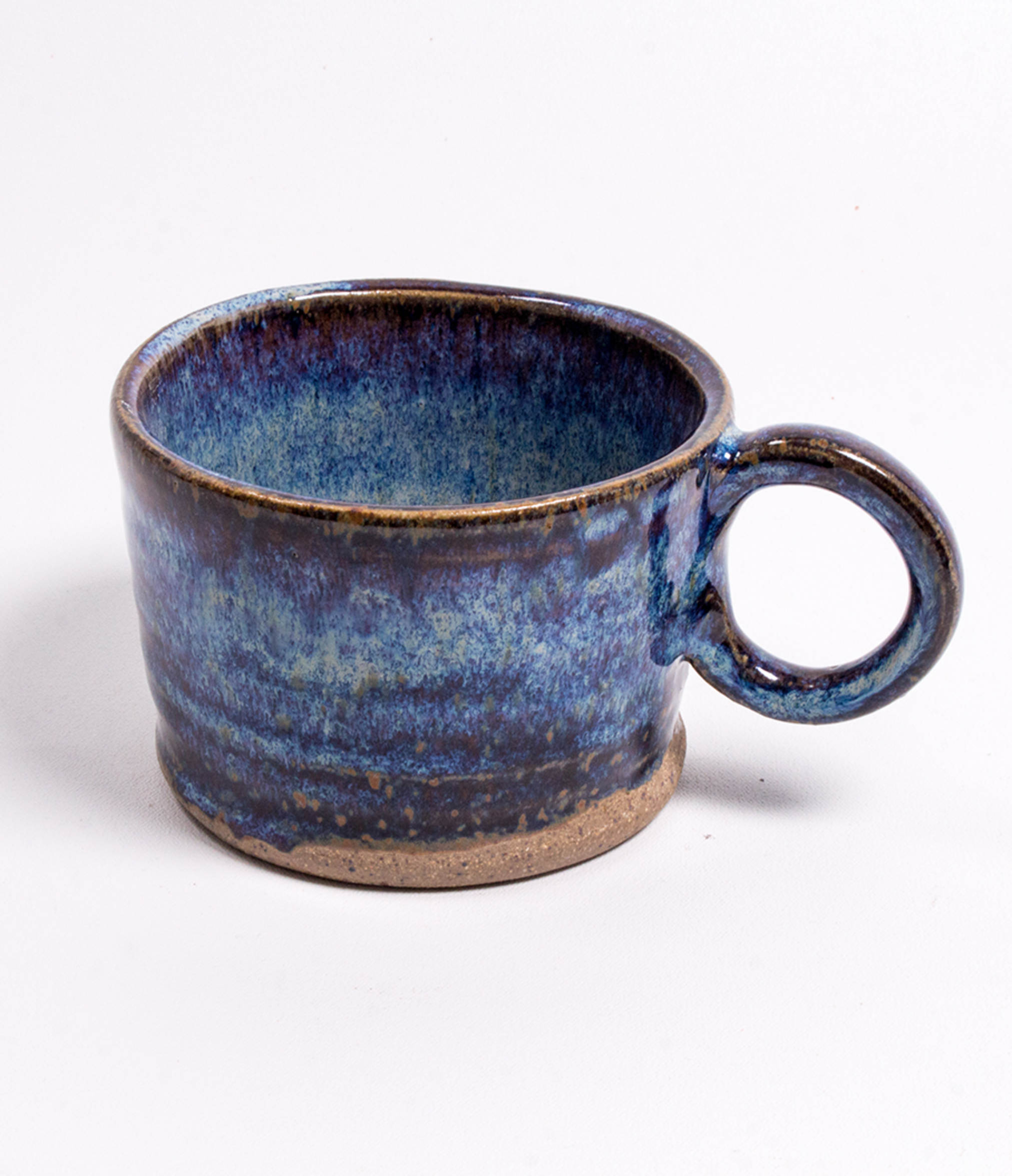 Rhoko Blue Stoneware Mug