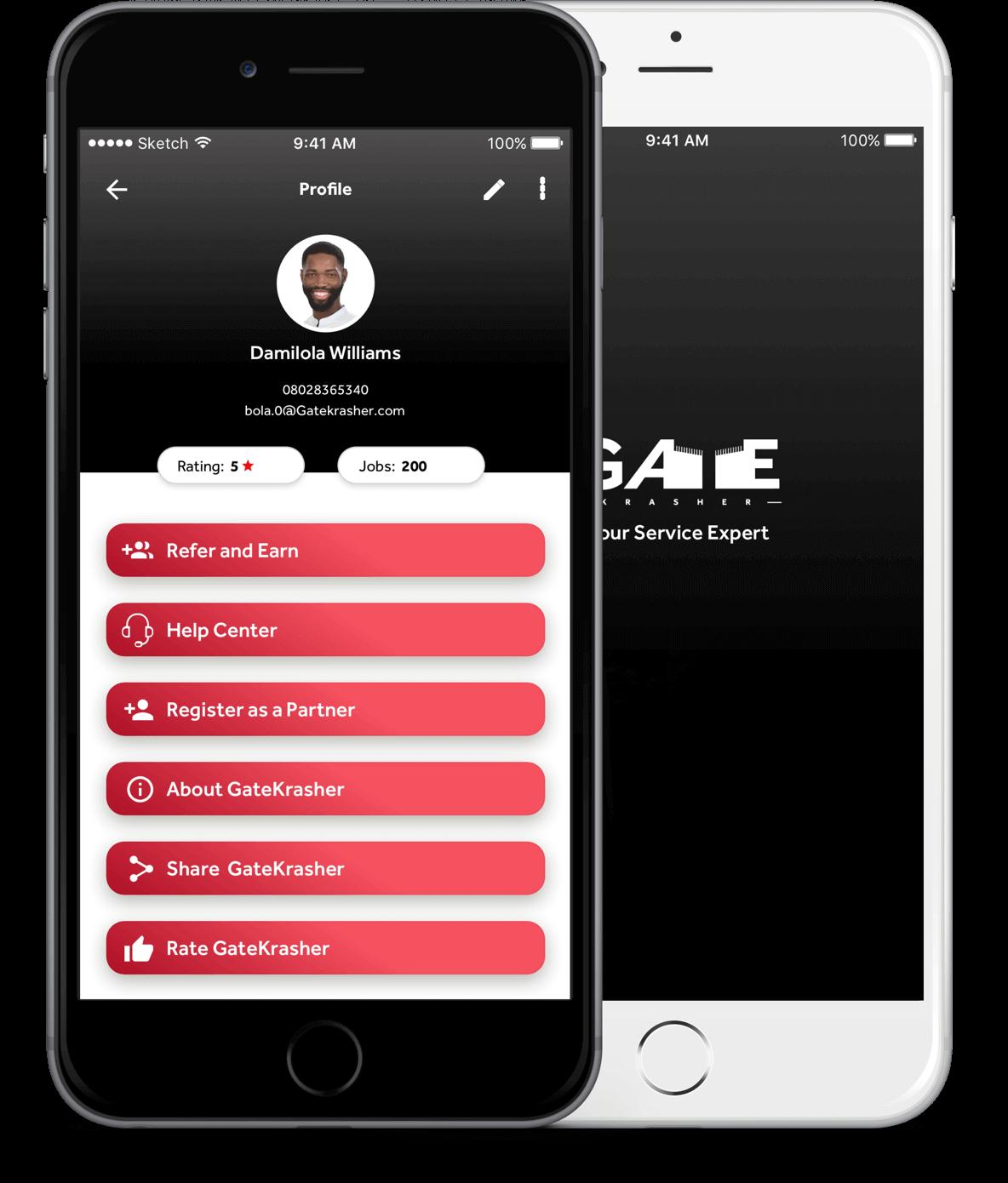 Download Gatekrasher app