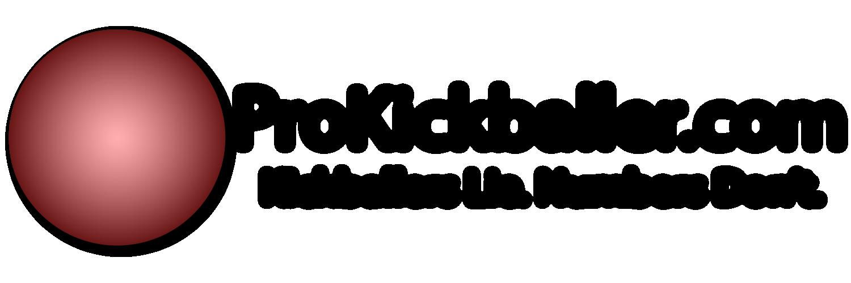 pro kickballer banner logo