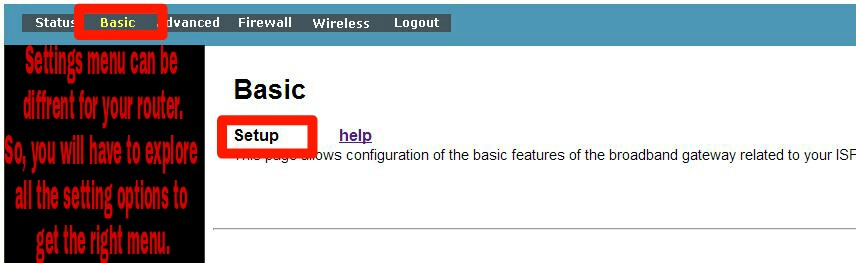 how to change router ip address d'link