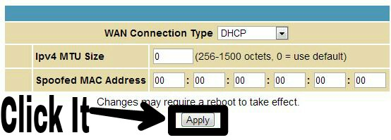 how to change private ip address