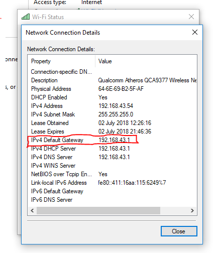 how to my router settings