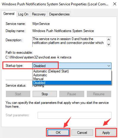 service host local system (network restricted) high disk usage