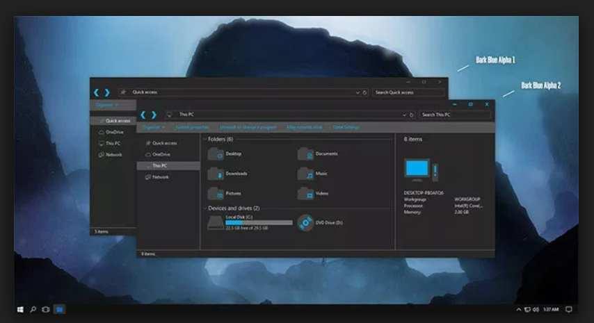 best windows 10 themes deviantart