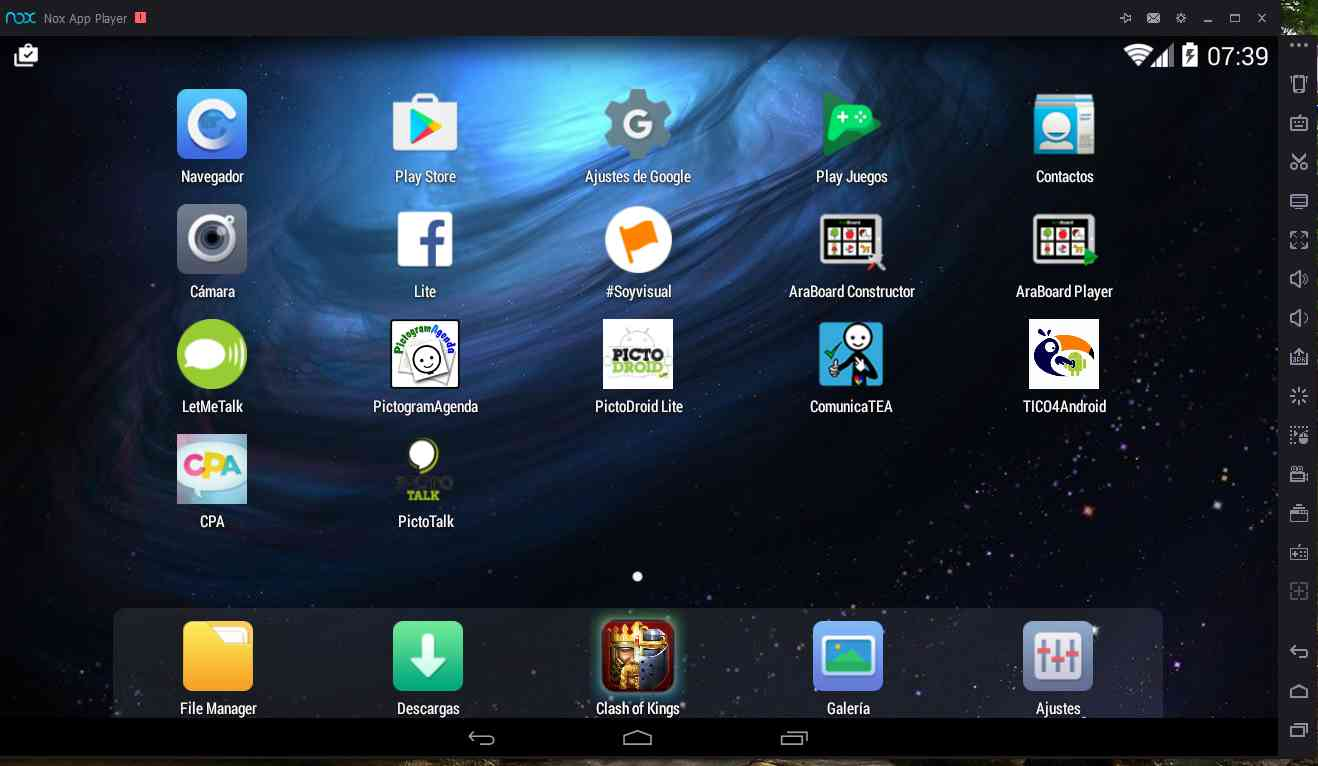 nox android emulator for pc windows 7