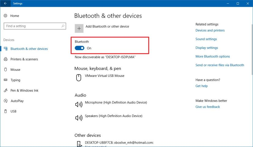 How to turn on bluetooth in windows 10 and how to fix bluetooth not you can also see the paired devices and available bluetooth devices list on the bluetooth setting page by turning on the bluetooth it doesnt mean that it ccuart Gallery