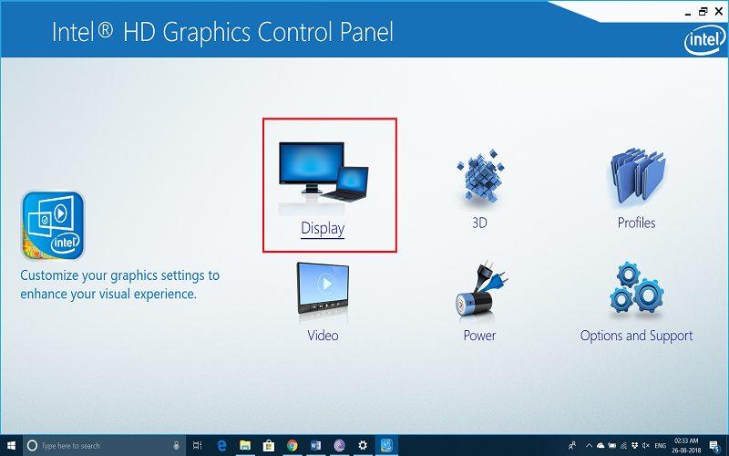 rotate screen windows 7 keyboard shortcut