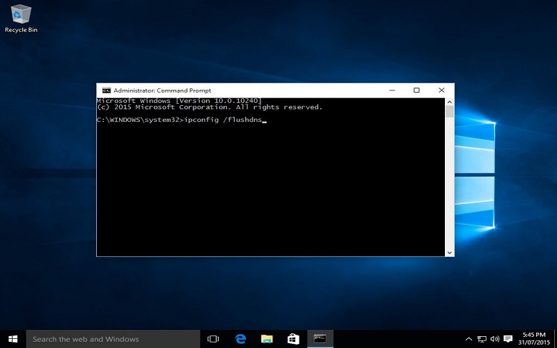 windows 10 clear cache and cookies