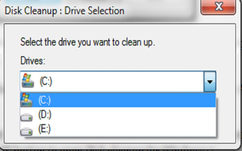 how to clear computer cache windows 7