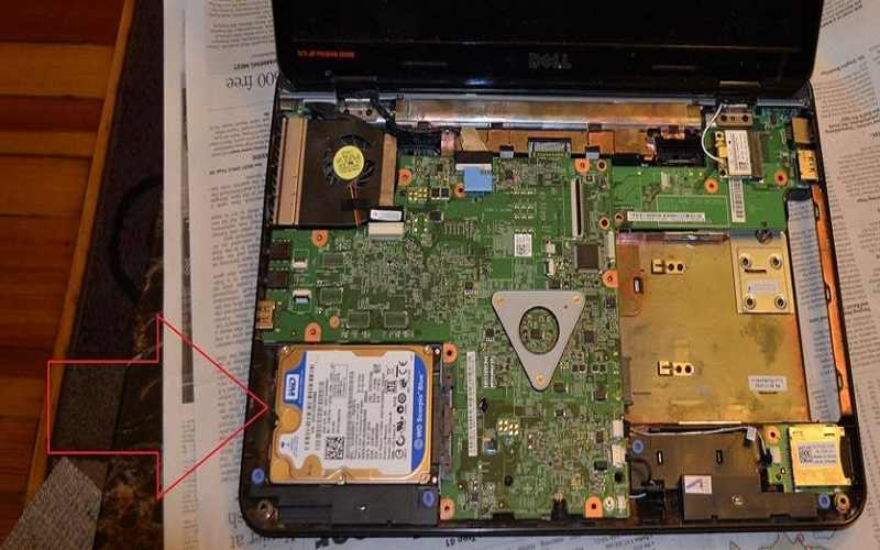 what does a laptop hard drive look like