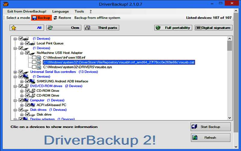 best driver backup software 2017