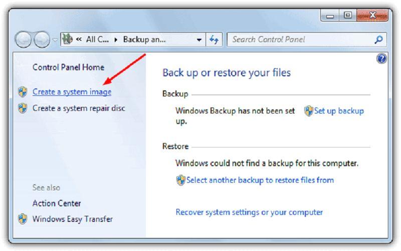 windows 10 system backup