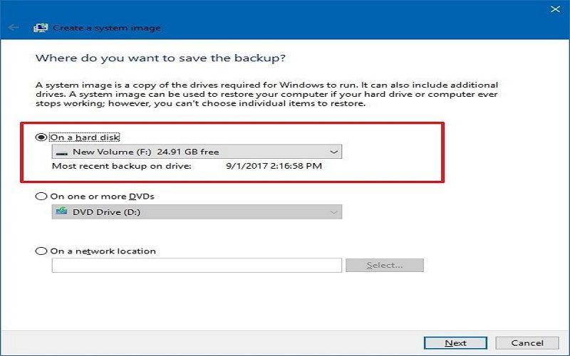 how to backup windows 10 os